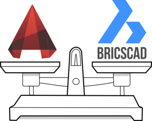 bricscad vs autocad scale