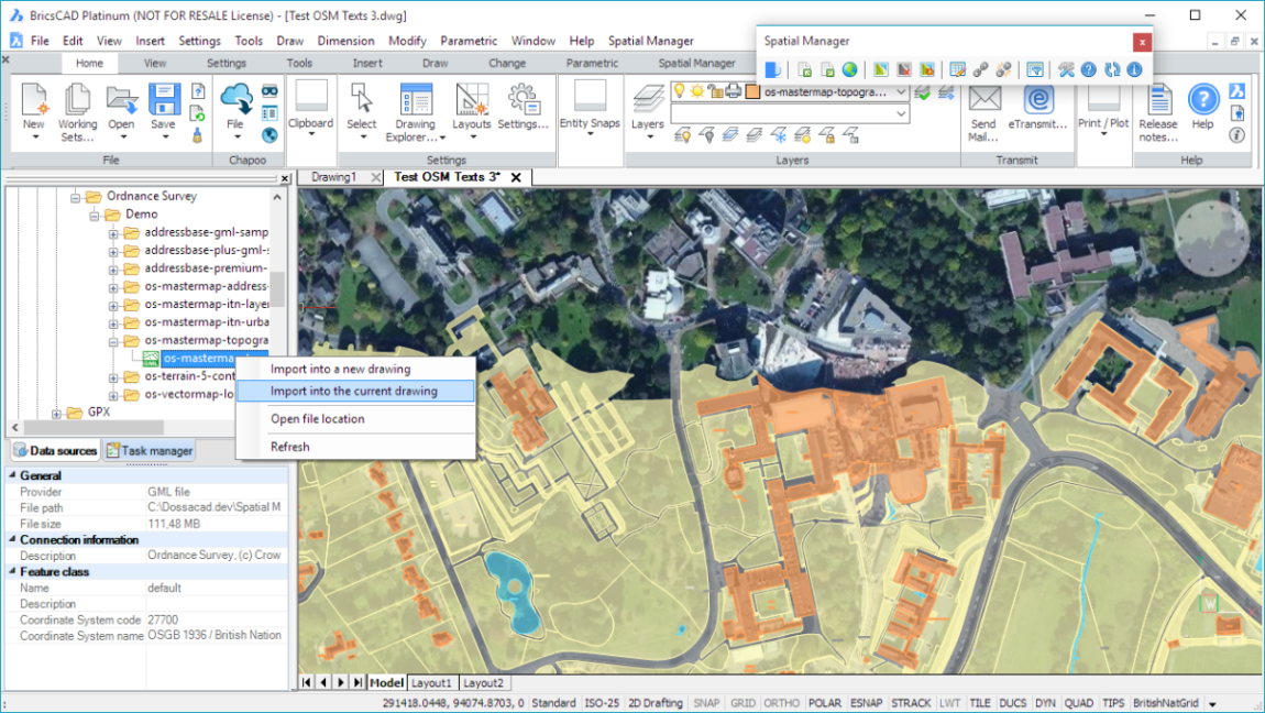 Spatial Manager 3.0